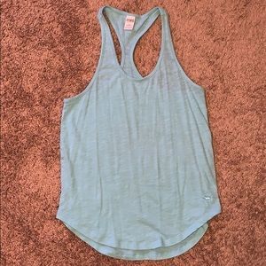 Blue Victoria's Secret PINK Tank Top